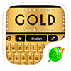 gold go keyboard theme Версия: 4.15
