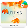 XPERIA™ Autumn Theme Версия: 1.0.0