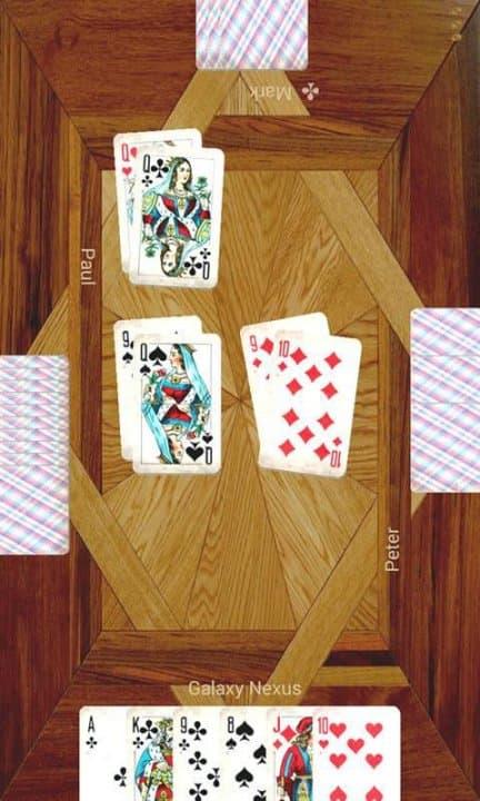 раздивание играть карты на i
