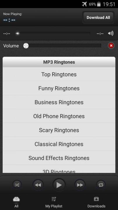скачать приложение на телефон рингтоны