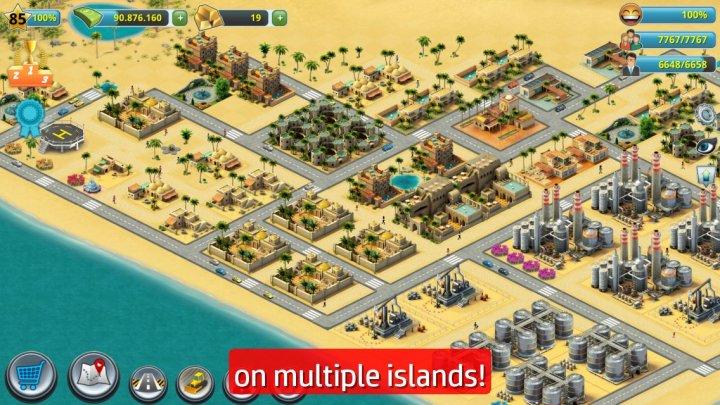 скачать игру на андроид city island 3 с бесконечными деньгами