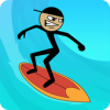 Stickman Surfer Версия: 1.0