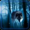 Волки Ночь живые обои Версия: 1.0