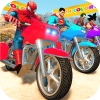 Super Heroes Downhill Racing Версия: 1.4