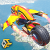 Flying Robot Bike : Futuristic Robot War Версия: 1.7