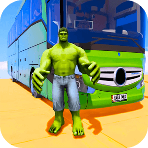 Superhero Big Bus Stunts Drive Версия: 1.4