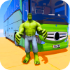 Superhero Big Bus Stunts Drive Версия: 1.0