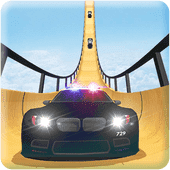 US Police Mega Ramp Car Stunts Racing: Cop Driving Версия: 1.0.5