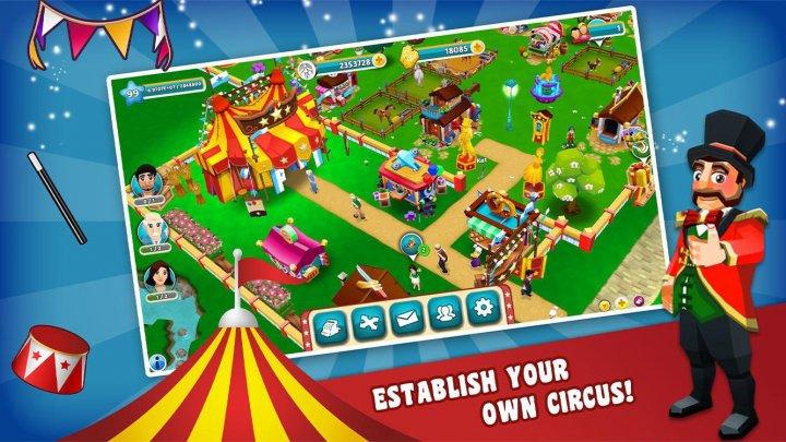 призрак цирка 3d взлом