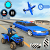 US Police limousine Car Quad Bike Transporter Game Версия: 1.4