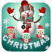 Cute Merry Christmas Snowman Theme Версия: 1.1.2