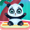 Скачать Cute Panda Caring and Dressup на андроид