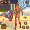 Superhero Captain Robot Flying Newyork City War Версия: 1.1
