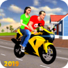 Offroad Bike Taxi Driver: Motorcycle Cab Rider Версия: 3.2