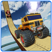 US Stunts Master - Extreme Monster Truck Stunts Версия: 1.1