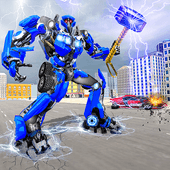 Force Strike Hammer Robot War Версия: 1.10