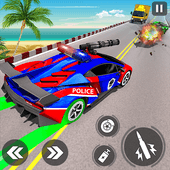 Police Car Racing Simulator: Traffic Shooting Game Версия: 1.2