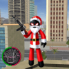 Santa Claus Stickman Rope Hero Gangstar Crime Версия: 1.2