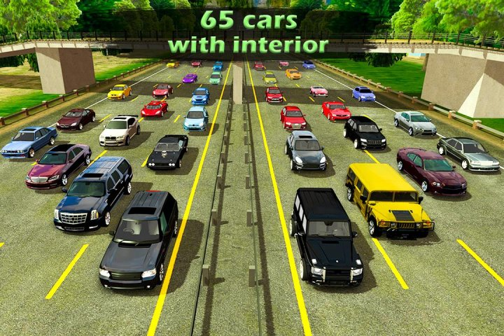 Manual gearbox Car parking Free Download for PC